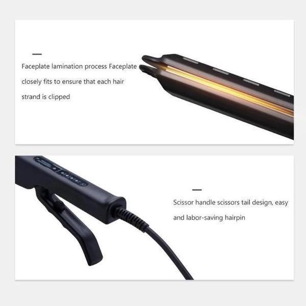 Ceramic Tourmaline Ionic Flat Iron Hair Straightener In 2020 Flat Iron Hair Styles Hair Straightening Iron Hair Straighteners Flat Irons
