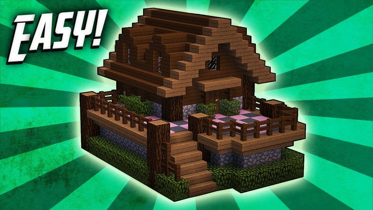 Minecraft: How To Build A Survival Starter House Tutorial (#12