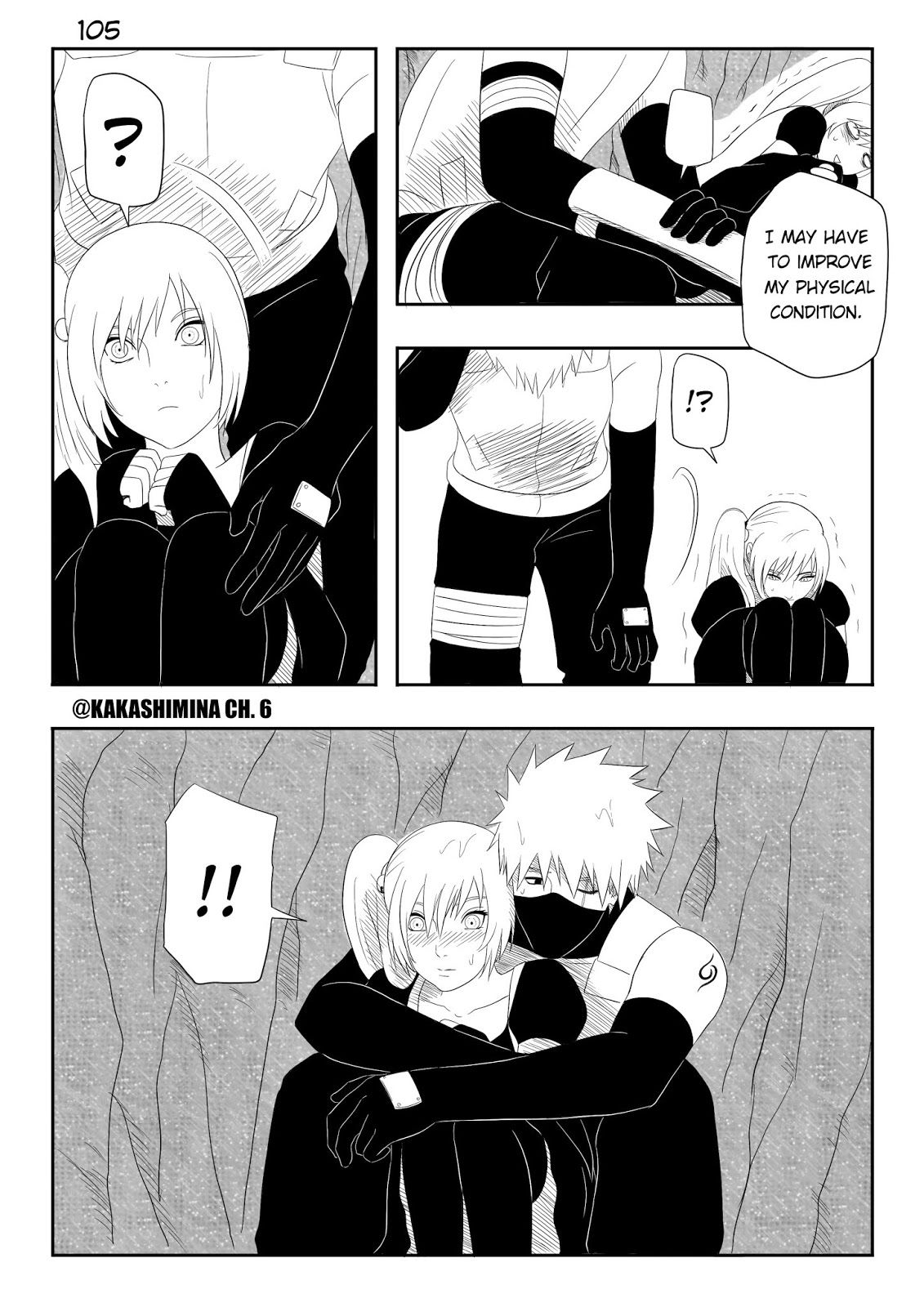 Naruto Fan Manga Kakashi x Mina Gaiden CH.6 In the rain