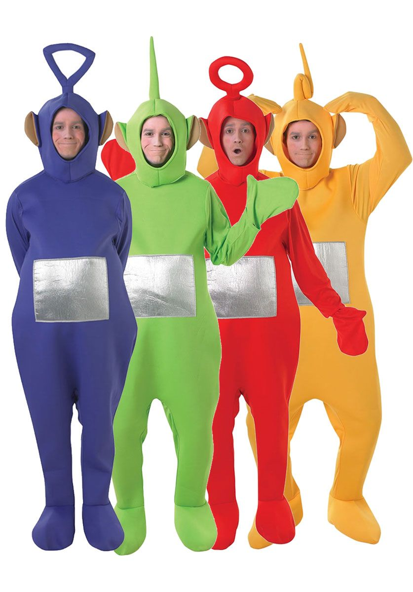 Hold firmly adult teletubbies