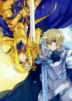 Alice and Eugeo, Knights of the Axion Church   SAO Alicization