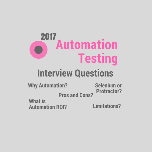 Check Out The Best Software Automation Testing Interview Questions This List Will Surely Help You Doing Interview Questions This Or That Questions Automation