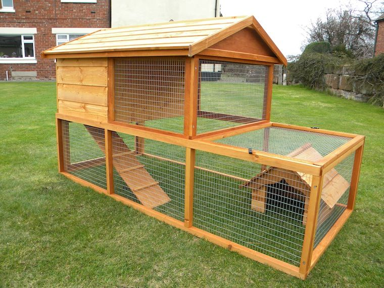 we specialise in bespoke rabbit hutch designs we can