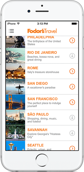 Fodor's City Guides App Best travel sites, Healthy