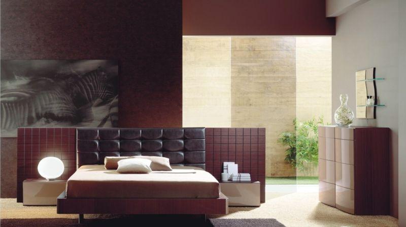 Schlafzimmer Modern Gestalten In Roter Farbe