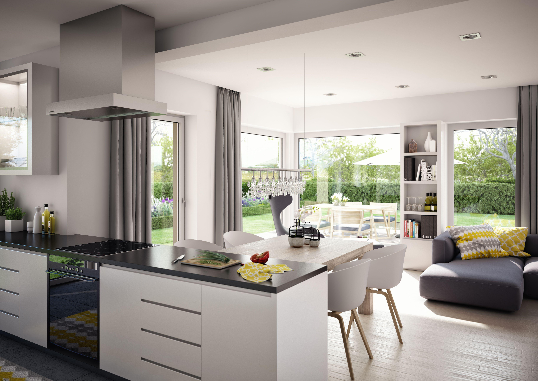 Küche SOLUTION 204 | Offene küche wohnzimmer, Esszimmer ...