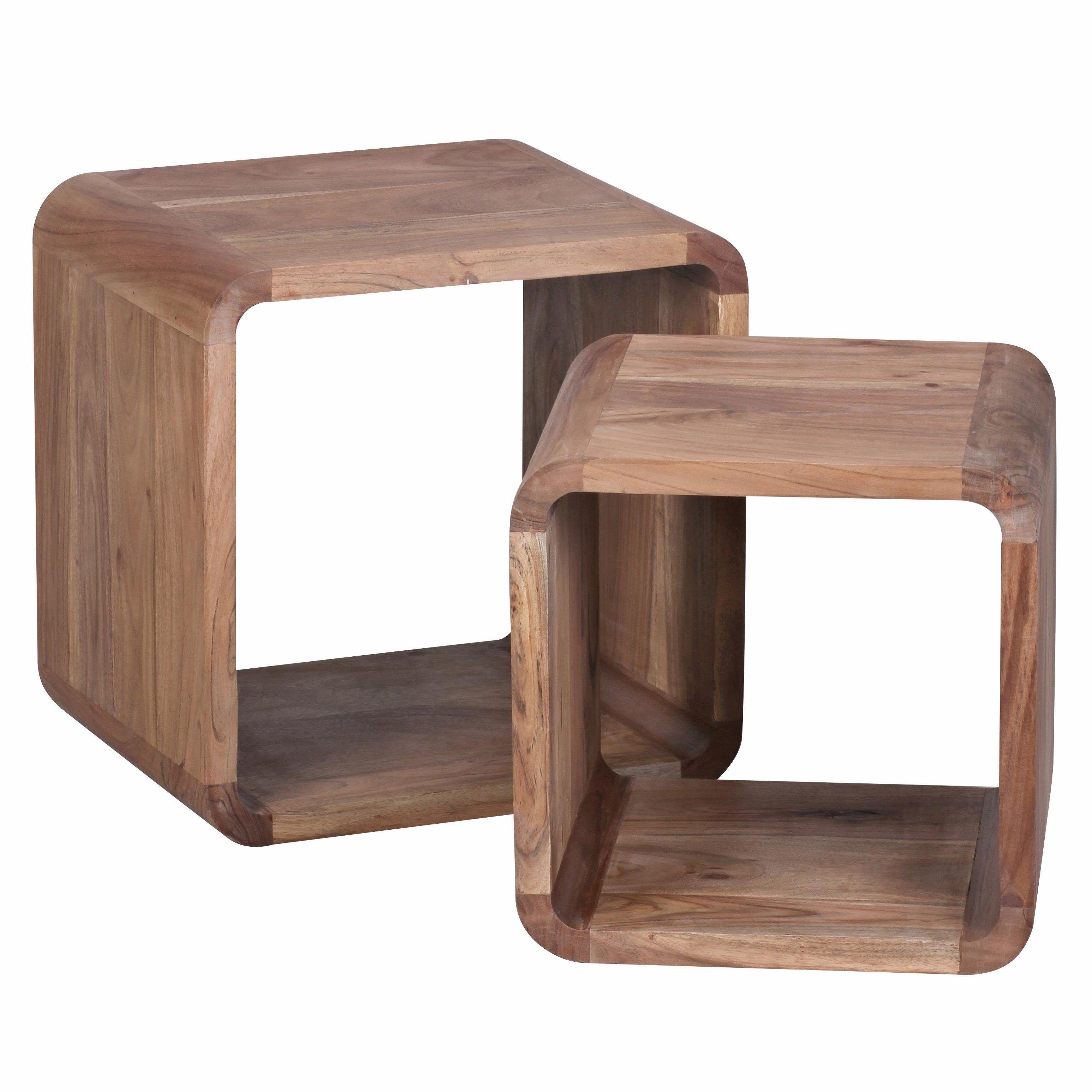 Home Affaire Beistelltisch Beige Cube Fsc Zertifiziert Jetzt Bestellen Unter Https Moebel Lad Beistelltisch 2er Set Couchtisch Massivholz Beistelltisch
