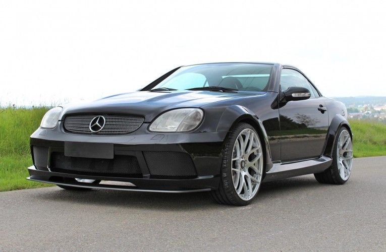 Mercedes Benz Slk R170 Visually Modified By Lumma Tuning Picture