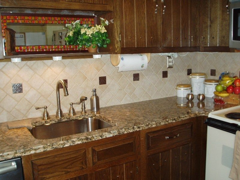 Ceramic Tile Backsplash Designs Kitchen