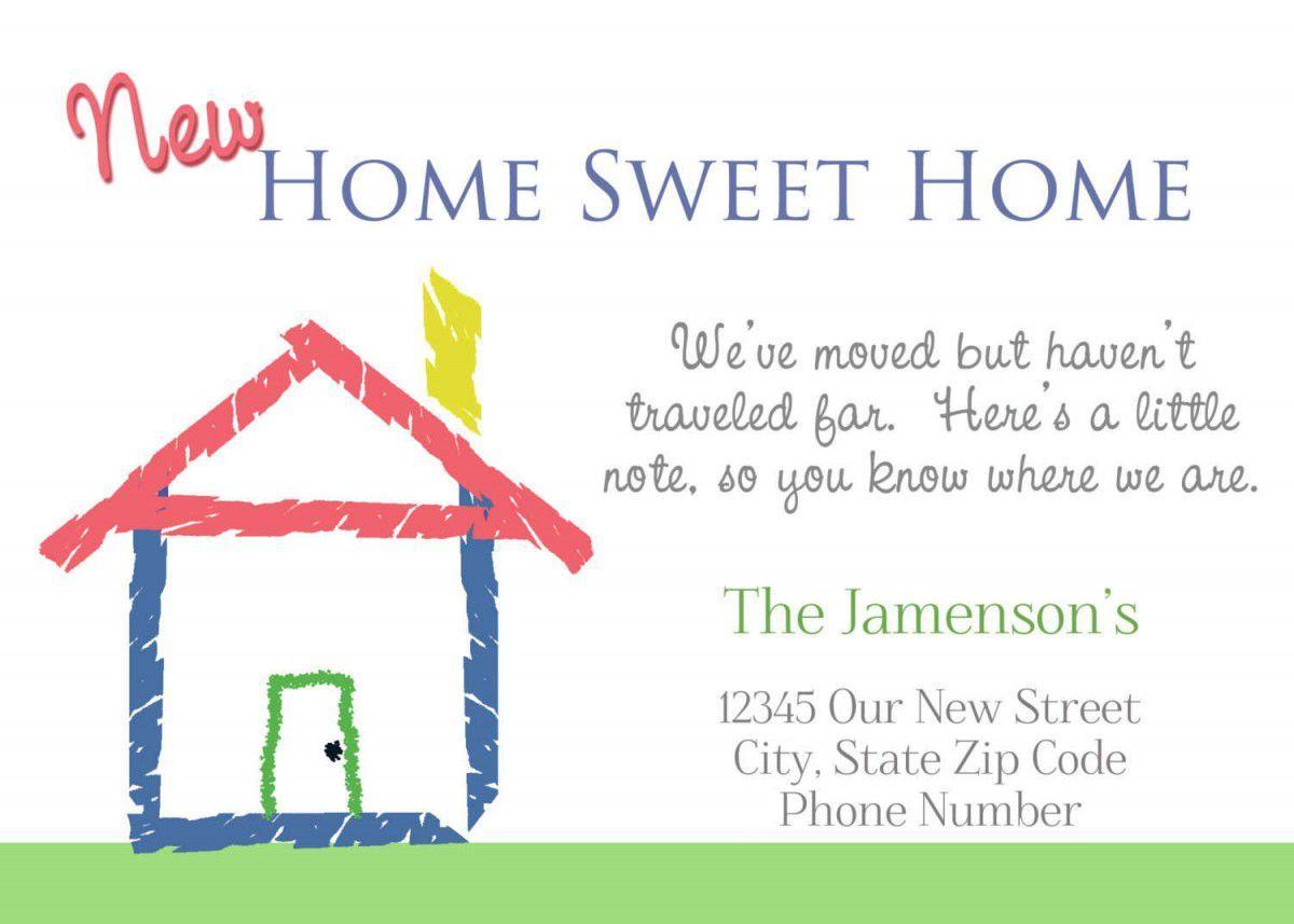 housewarming invitations cards free Invitations card template