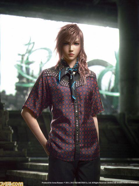 Lightning of Final Fantasy XIII-2 - New prada's model