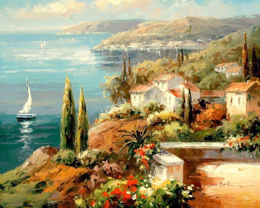 Peter Bell | Paintings | Pinterest