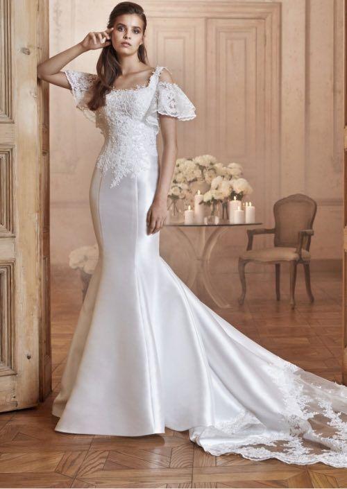 Elegante, Moderne Tarik Ediz Brautkleider White Kollektion ...