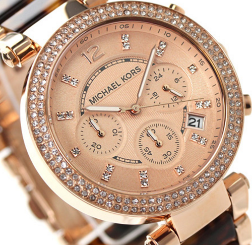 61846f4741a9 Michael Kors Women s Parker Chronograph Watch MK5538 - In Stock