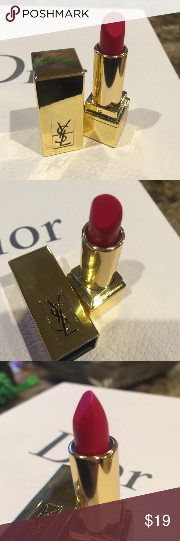 Ysl Matte Res Lipstick brand New Ysl matte red lipstick brand-new never used By Yves Saint Laurent; made in France   × no trades ✓ offers  welcome  bundle & save   ᴀʟʟ ɪᴛᴇᴍs sʜɪᴘ ᴏᴜᴛ ɴᴇxᴛ ʙᴜsɪɴᴇss ᴅᴀʏ Sephora Makeup Lipstick