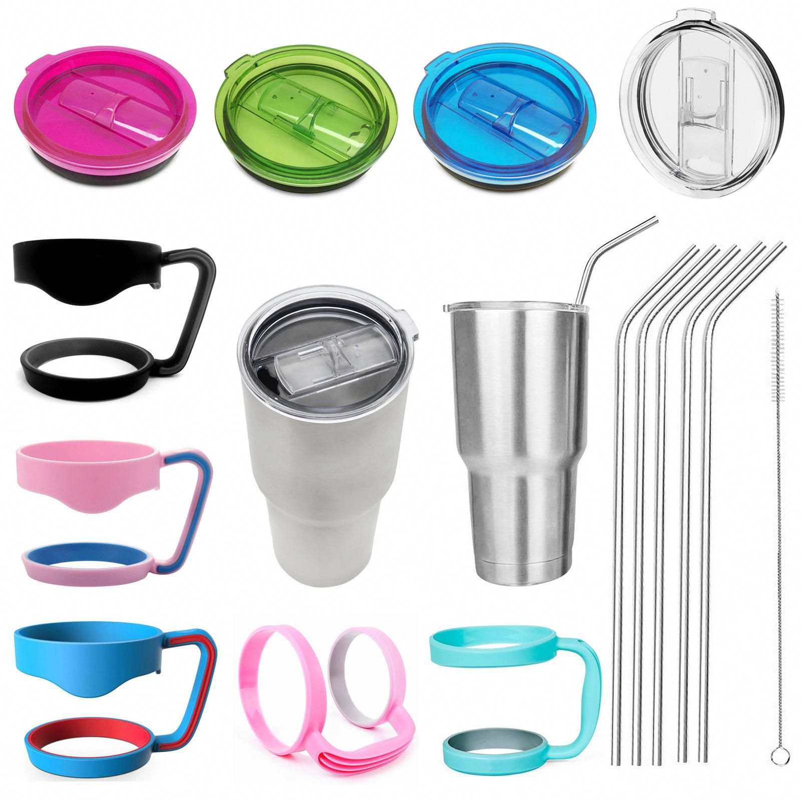 1 55 Aud For 30 Oz Yeti Rambler Rtic Replacement Cup Lid Tumbler Handle Lid Holder Straws Ebay Home Garden Rtic Tumblers Yeti Rambler Tumblers Yeti