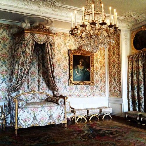 La chambre de Madame Adélaïde, fille de Louis XV, au
