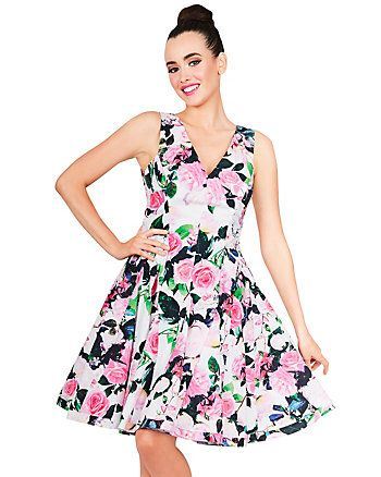 Floral Print Prom Dress from Betsey Johnson $138,00 | Betsy Johnson ...