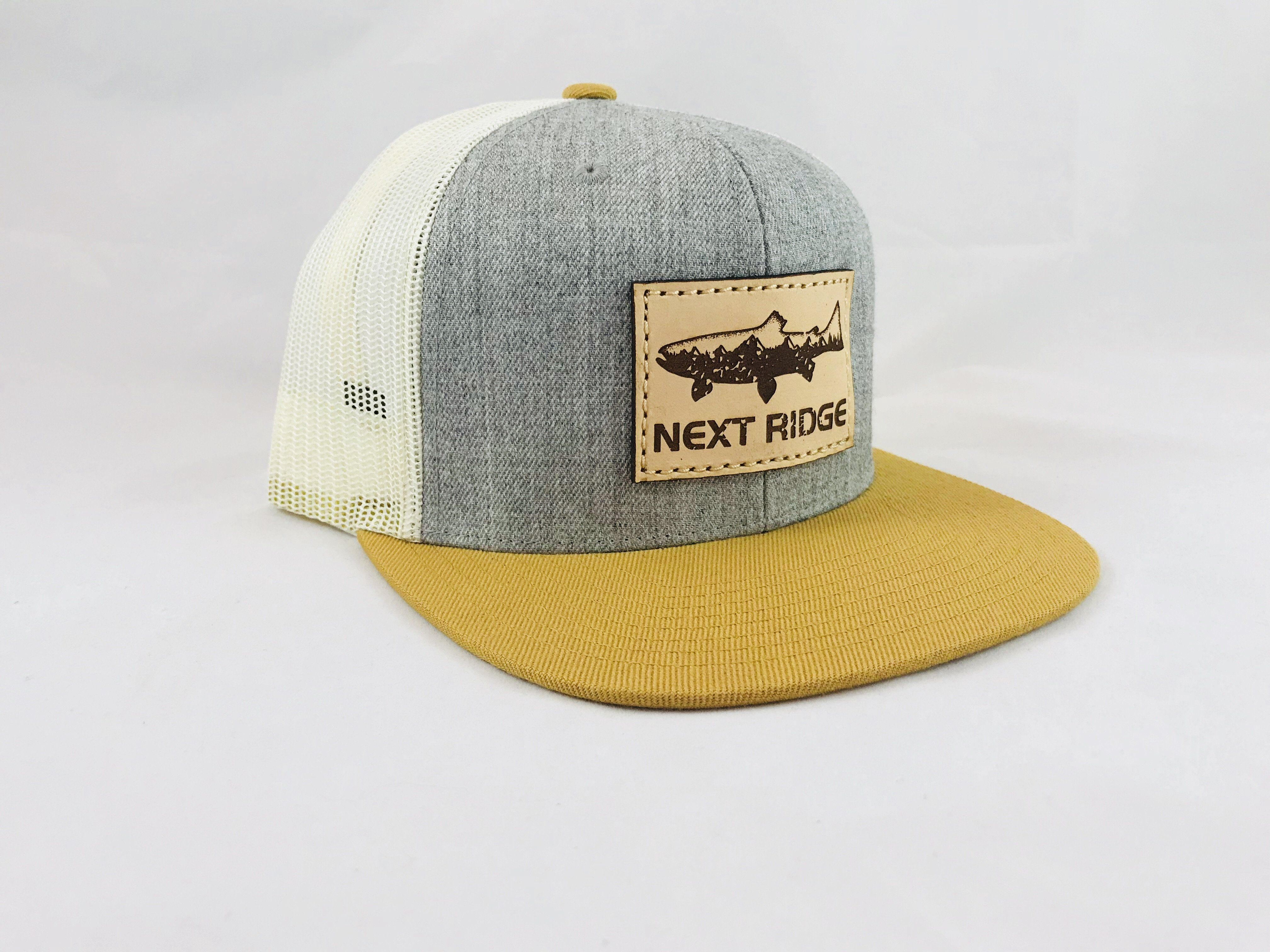 Custom Trucker Hat Richardson Goldentrout Embroidery Animal Name Cotton Snaps