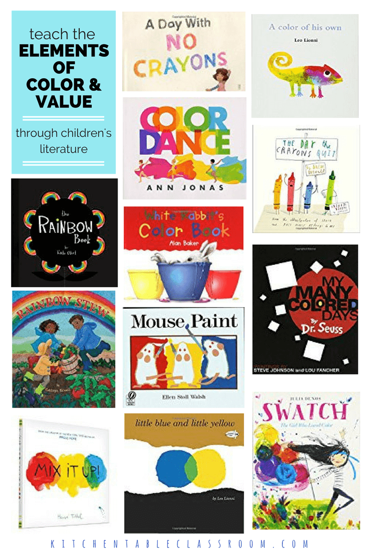 Children\'s Books about Art Elements