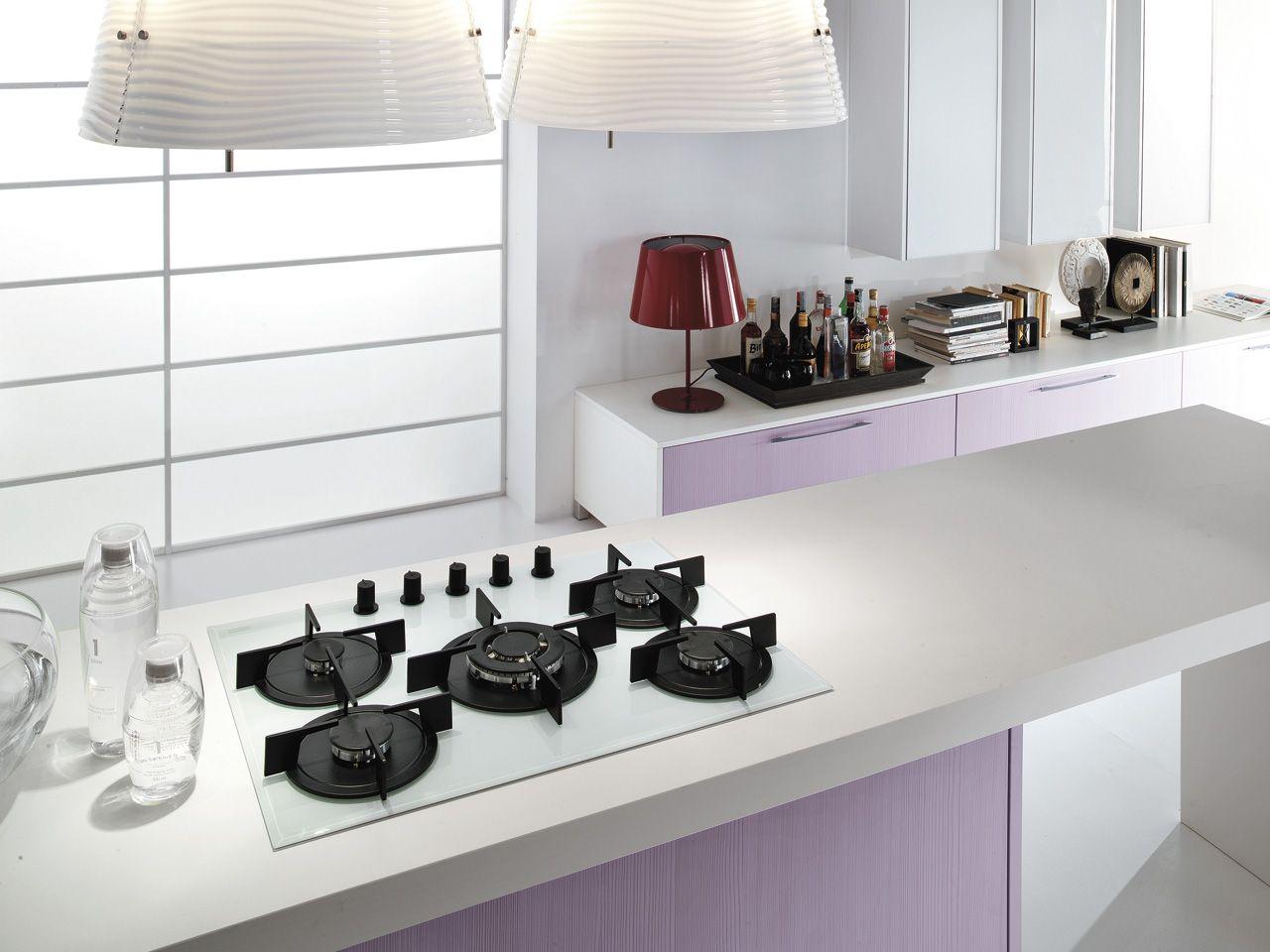 Nilde - Kitchens - Cucine Lube | Purple | Pinterest