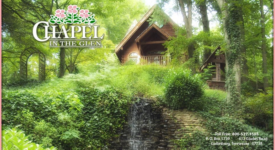 gatlinburg weddings married in tennessee the wedding chapel in the glen smoky mountain