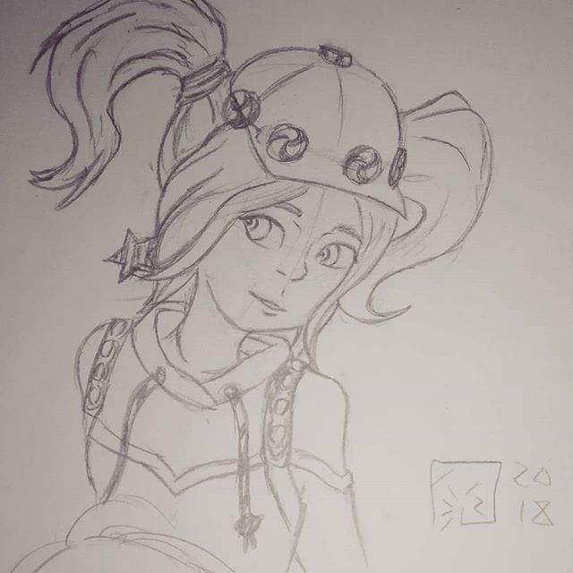 Probably Pretty A Bad Image But Drew My Interpretation Of The Zoey