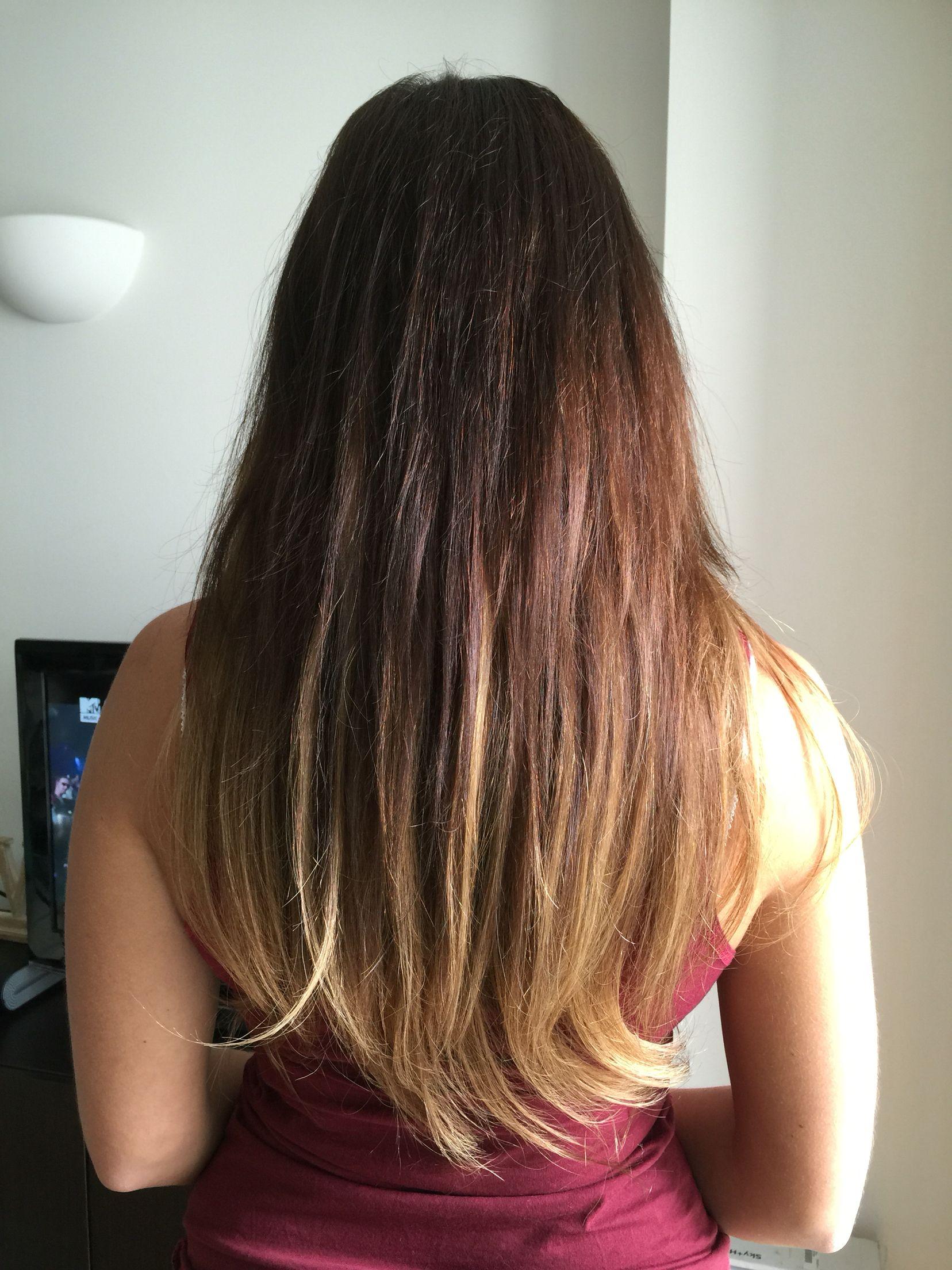 Balmain Ombr Hair Extensions Balmain Hair Extns Pinterest