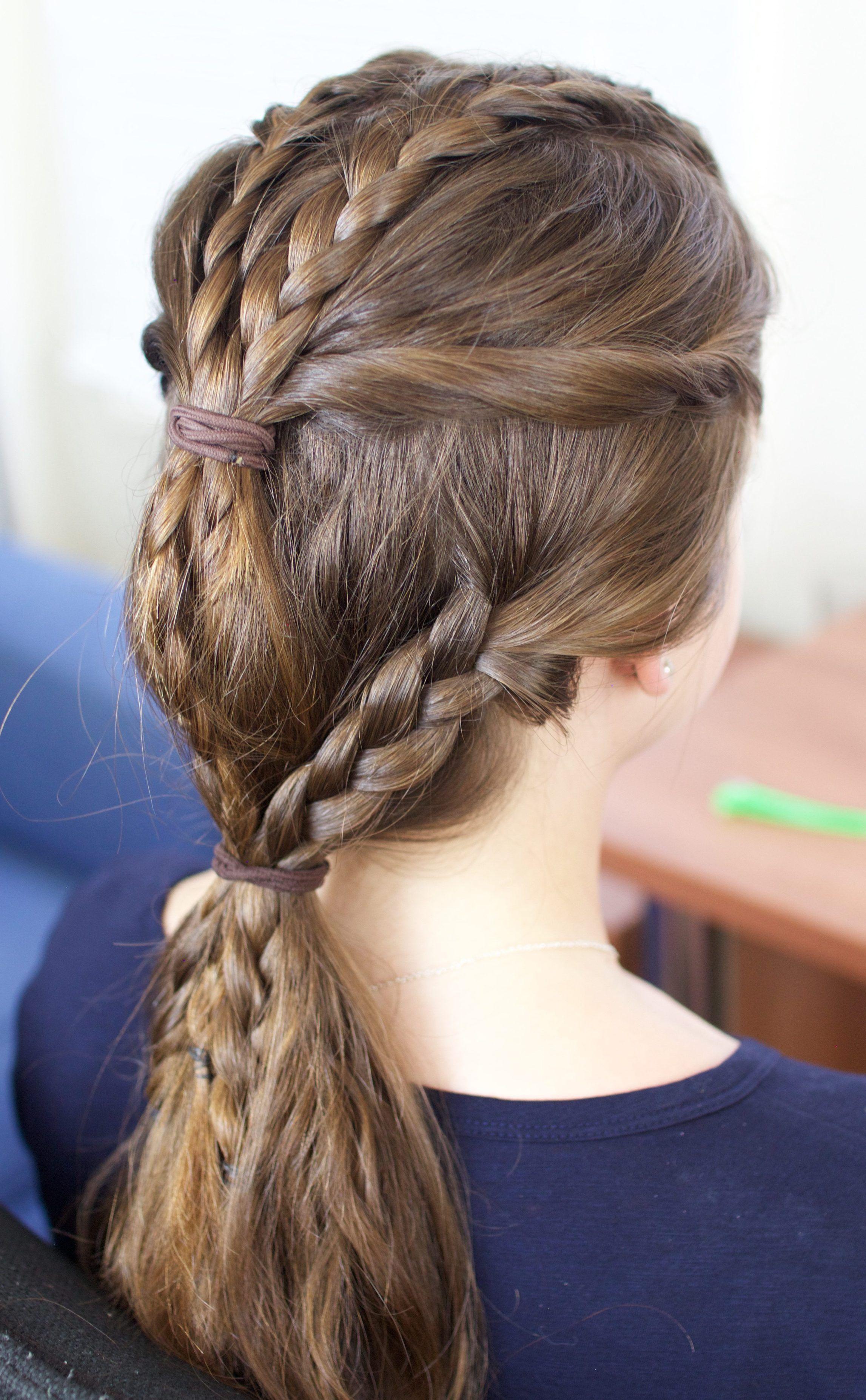 tutorial for vikings braids hvitserk vikings pinterest