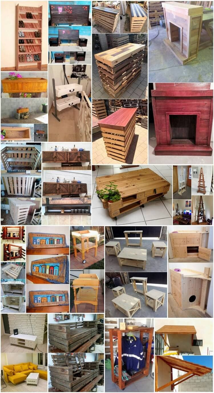 Fabulous Reusing Ideas with Old Wood Pallets