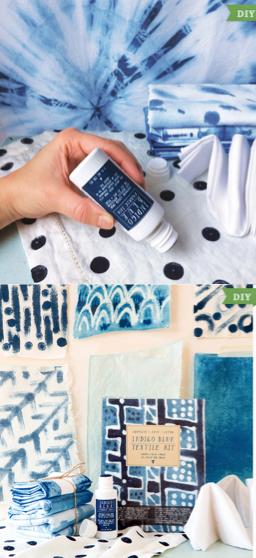 DIY Scarf Indigo Dye Kit
