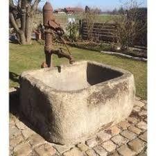 Bildergebnis Für Steintrog Brunnen Alt Kaufen