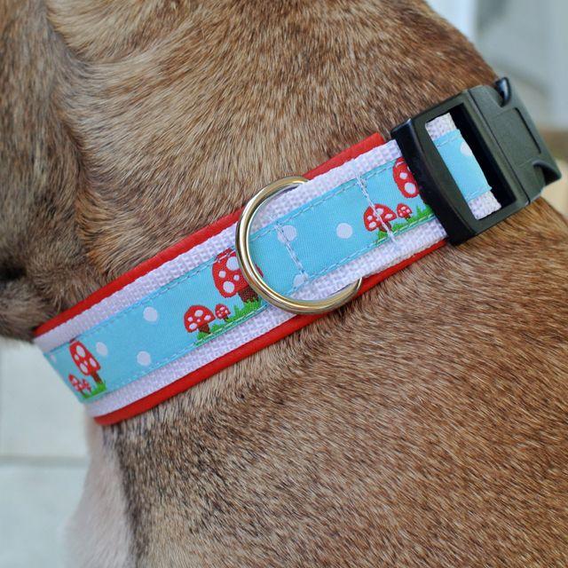 Anleitung: Hundehalsband selbst nähen | Schnittmuster | Pinterest ...