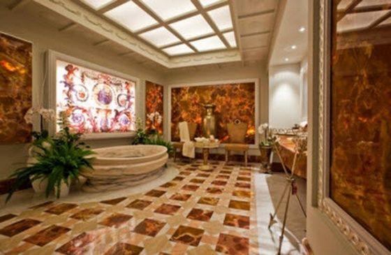 Classic Roman Style Interior Design For Bathroom House