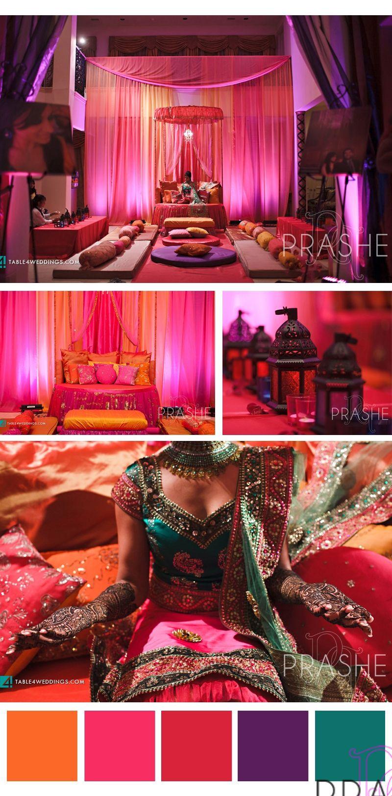 Wedding stage decoration with balloons  Sapna u Sanjeev  Mendi Ceremony  Wedding ideaa  Pinterest  Event