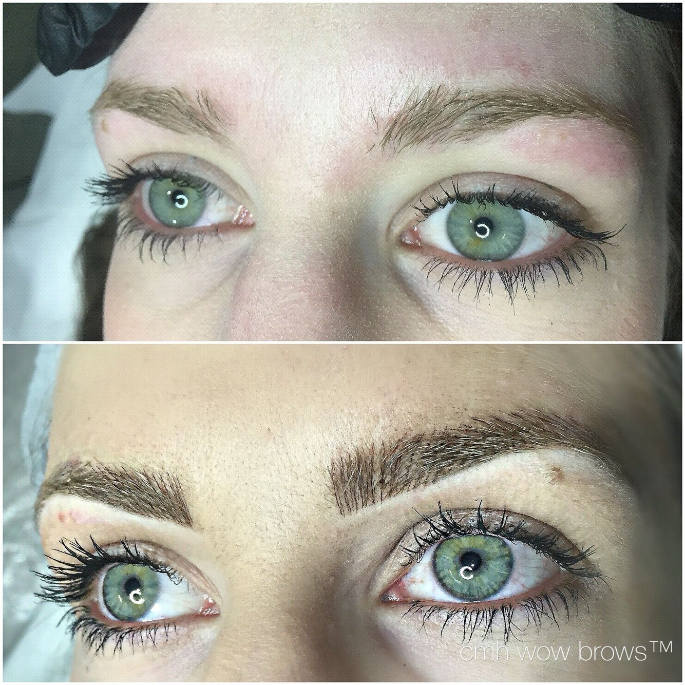 Microblading 3d Hair Strokes: Natural Eyebrow Tattooing Hair Stro…