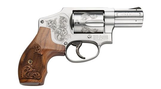 S&W M640 Engraved 5RD 357MAG/38SP +P 2.12\