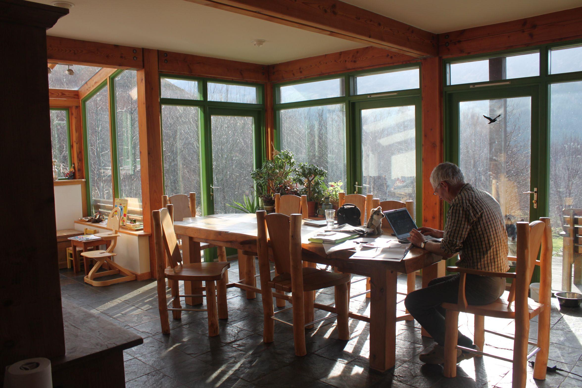 Makar Solar Gain Thermal Mass - Makar Ecological Homes Scotland