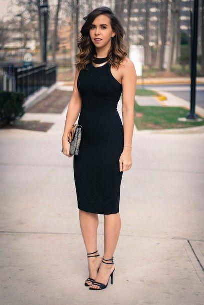 03514dc1cfa4 Cute black #pencil dress   Fashion   Casino dress, Casino party ...
