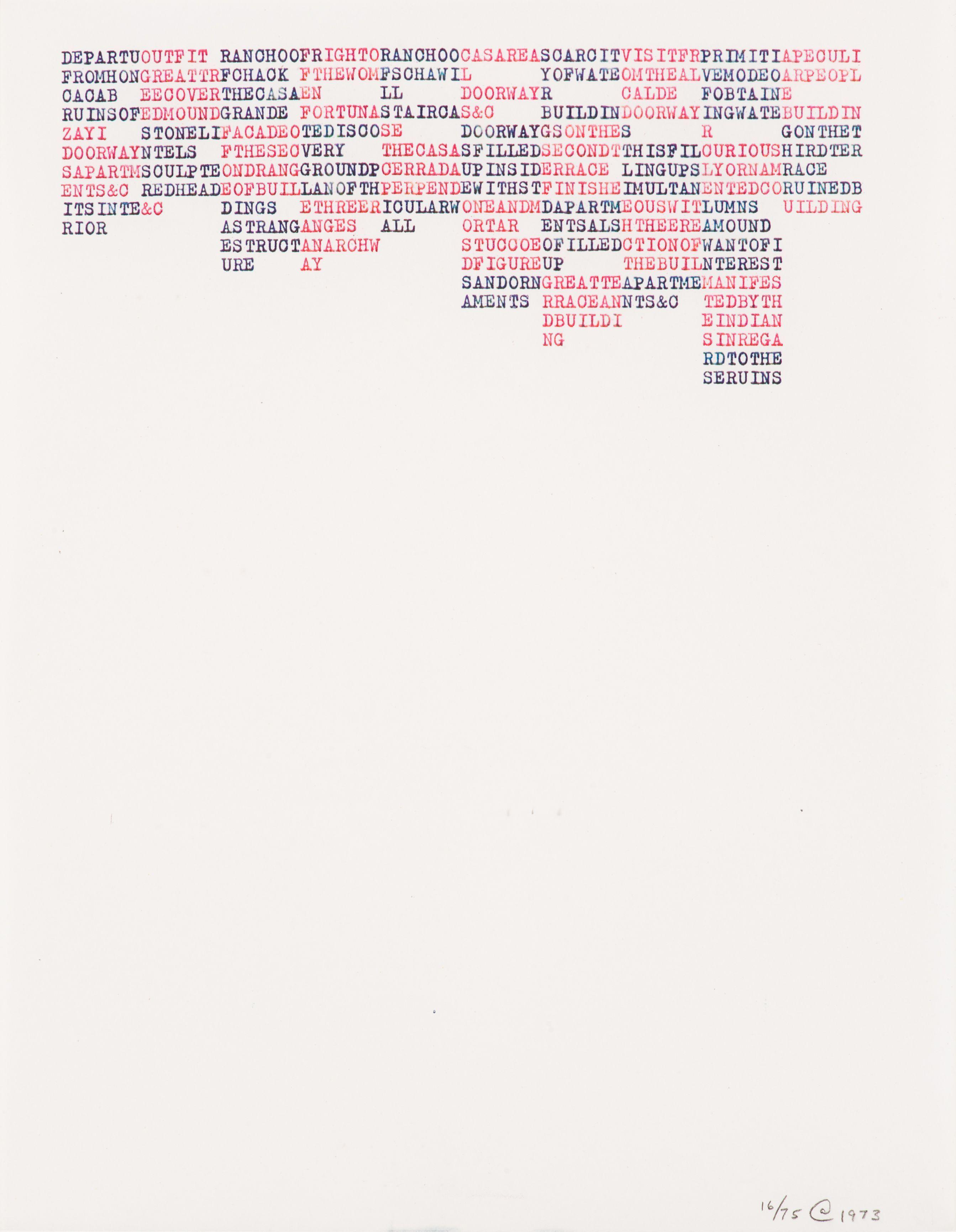 Yucatan ARTIST / MAKER Carl Andre, born 1935 COLLECTION