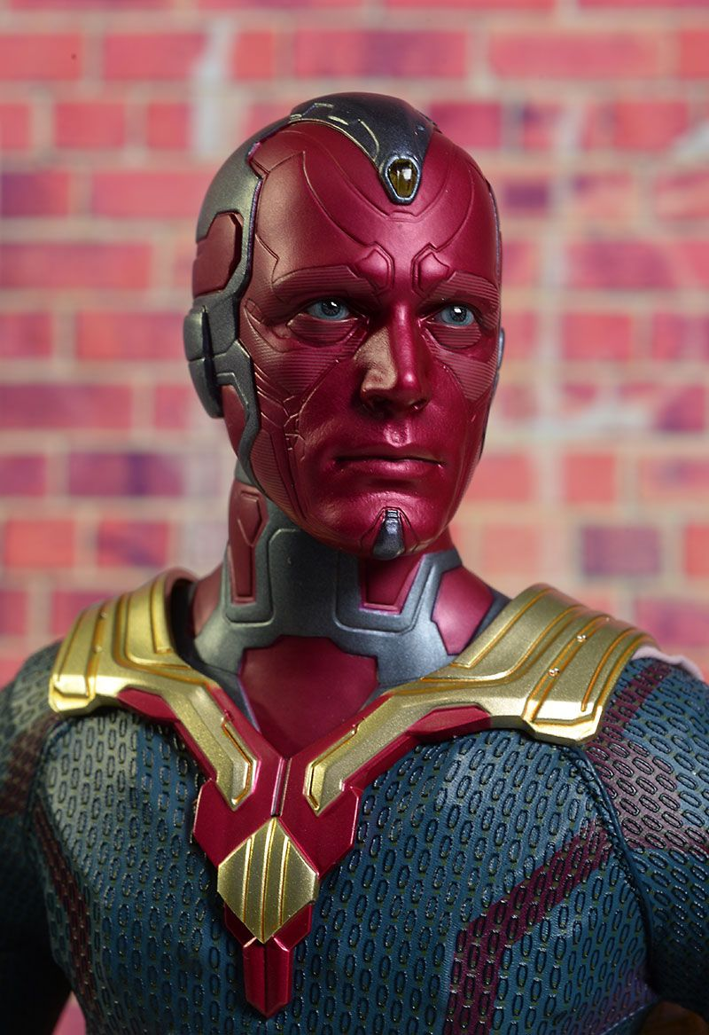 Hot Toys Avengers Vision sixth scale action figure