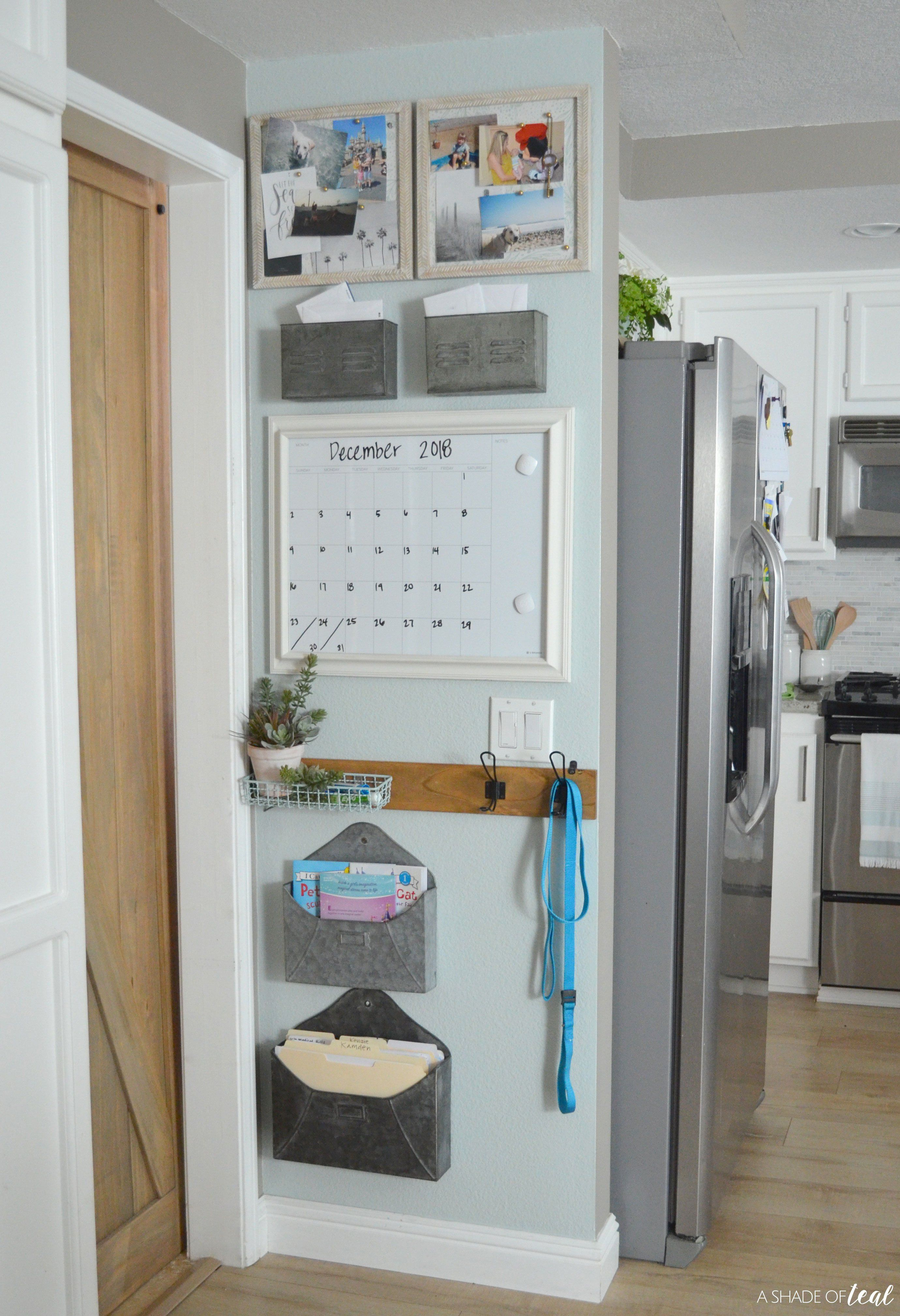 Creating A Kitchen Command Center