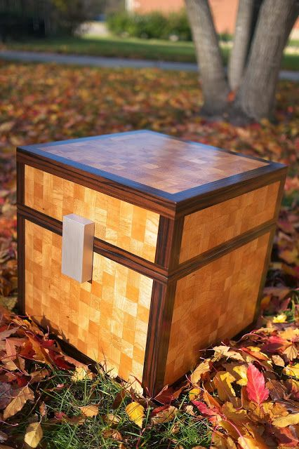 Minecraft Chest Made From Wood D I Y Minecraft