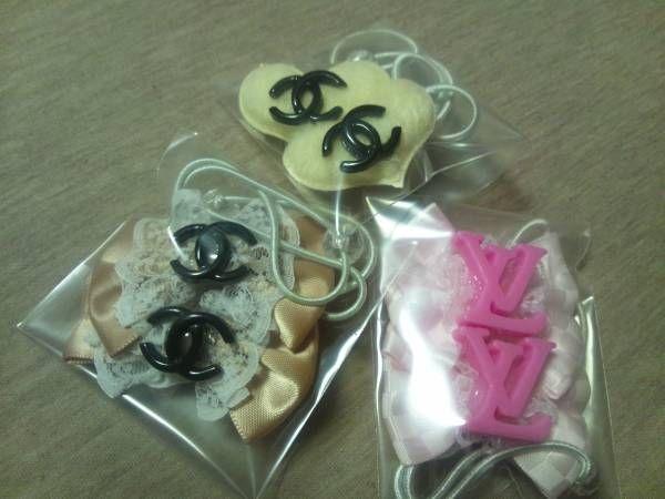 Kids Accessories 即決切手可ハンドメイド豪華ヘアゴムセットEフリルレースハート インテリア 雑貨 Handmade ¥580yen 〆05月22日