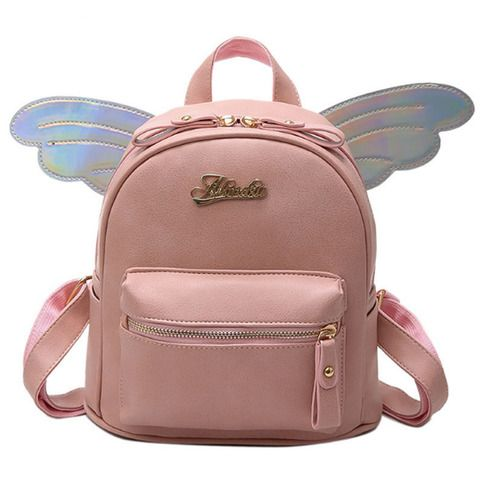 ecea355b3a Fairy Wings Leather Backpack School Bag sold by KoKo Fashion. Shop more  products from KoKo Fashion on Storenvy