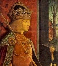Rudolph(Rudolf) I Hapsburg Emperor of Holy Roman Empire----A 24th Great Grandfather (the second Holy Roman Emperor who is a direct blood Great Grandfather)