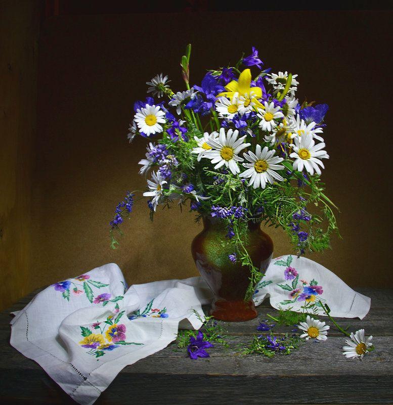 Натюрморты фото: натюрморты с цветами и фруктами ...