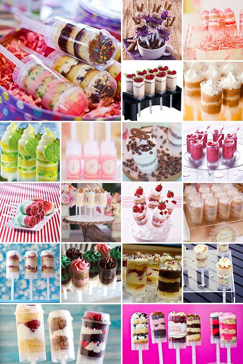 Push Pop Cake Pops With Images Cake Push Pops