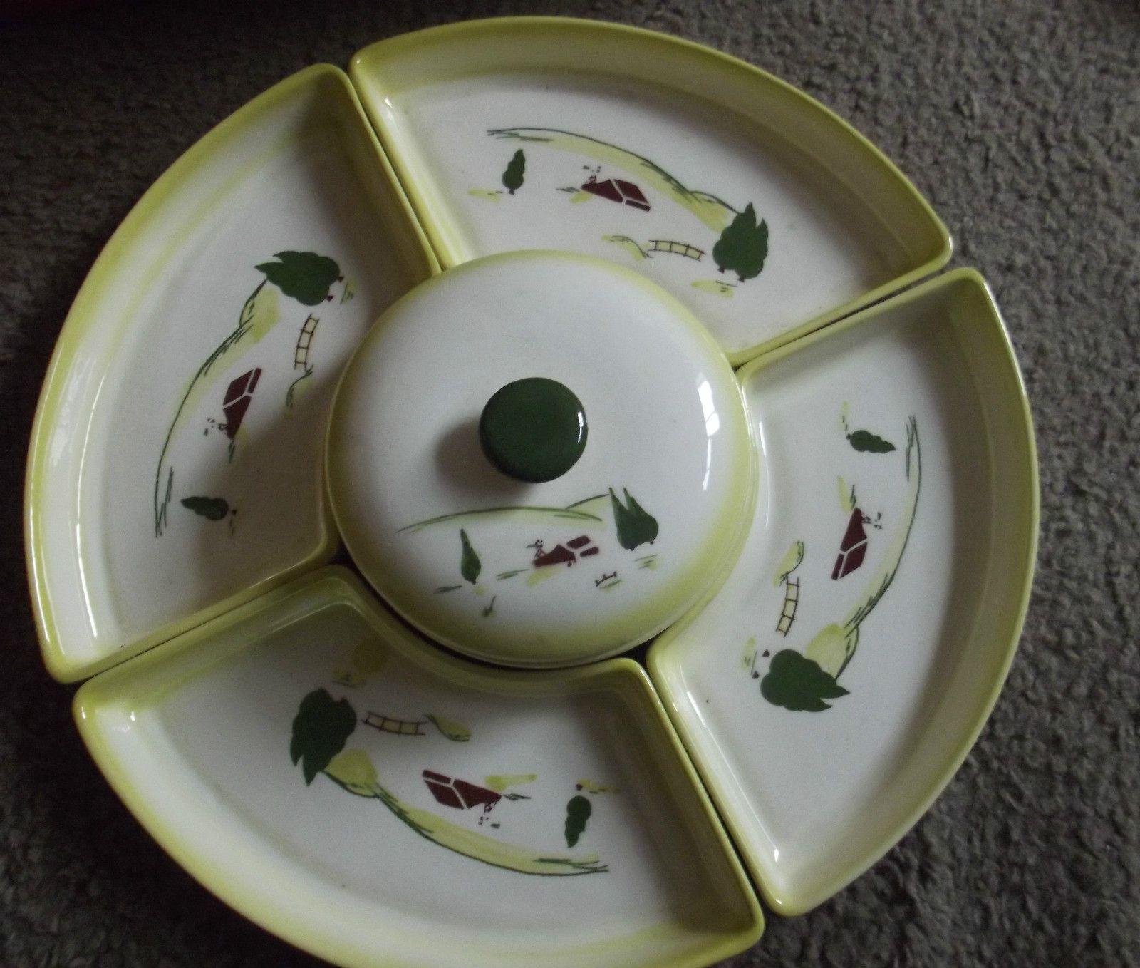 Vintage Brock of California Harvest Farmhouse Dinner Plates