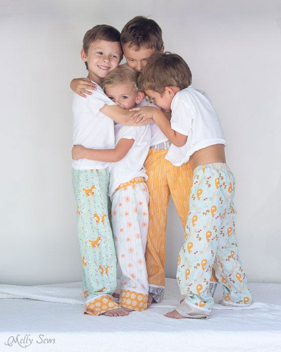 1096801a50 Sew Pajama Pants - Melly Sews show you how to draft and sew pajama pants  for kids